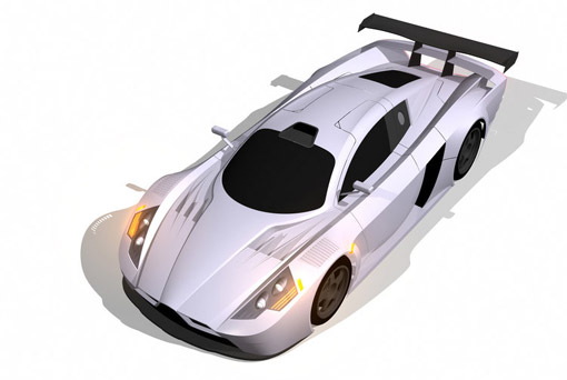 Spain's Sunred SR08 supercar