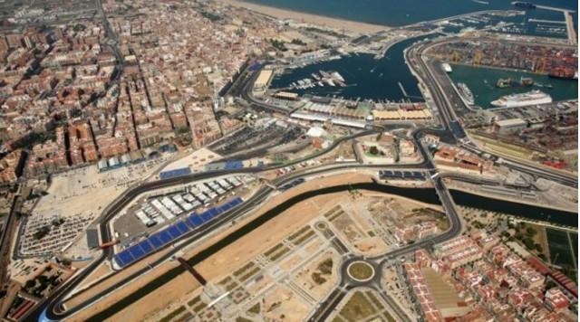 Spain's Valencia Street Circuit