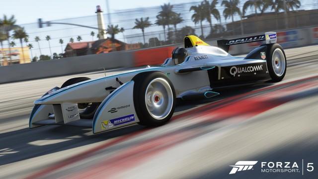 Spark-Renault SRT_01E Formula E car in Forza Motorsport 5