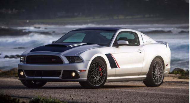 Special edition 2013 Roush Stage 3 Mustang, to be auction in support of the SAE Foundation.