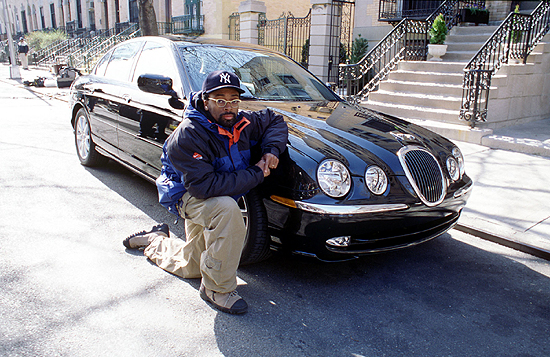 foto av Spike Lee Jaguar - bil