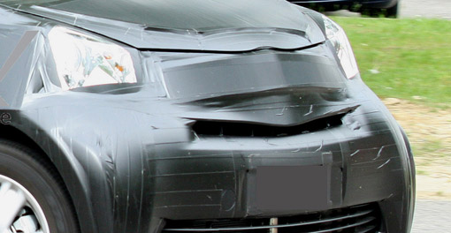 Spy Shots: 2010 Toyota iQ minicar