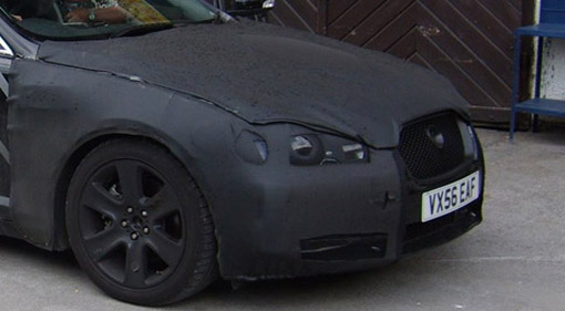 Spy Shots: Jaguar XF and 500HP XKR
