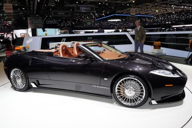 Spyker C8 Preliator Spyder, 2017 Geneva auto show