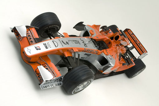Spyker recovering from F1 blunder