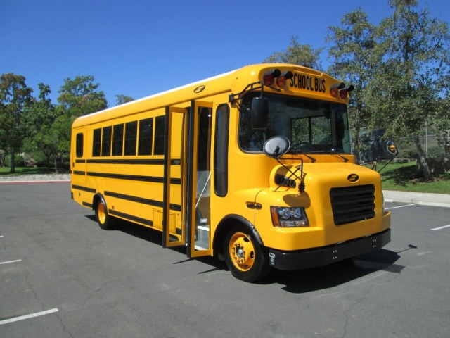 Starcraft e-Quest XL electric school bus