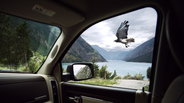 Still from 'Road', an ad for the 2013 Ram 1500
