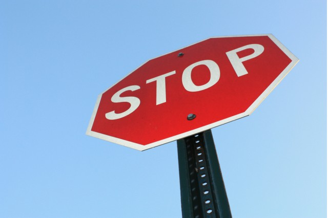 stop sign - flickr user thecrazyfilmgirl