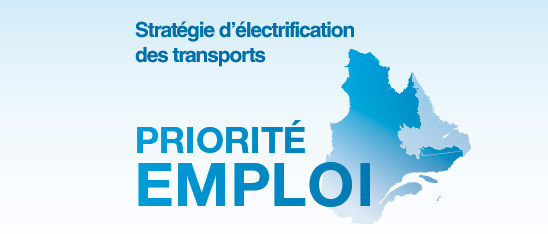 Strategy for electrifying transportation, Province of Quebec, Oct 2013