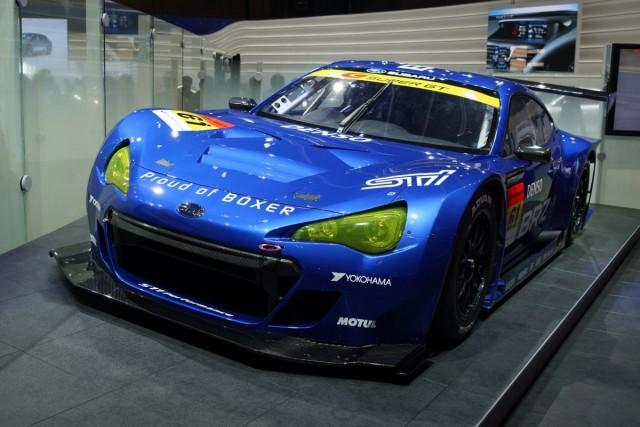 Subaru BRZ GT300 race car