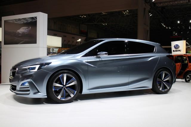 Cool Subaru Impreza 5Door Concept Tokyo Motor Show Live