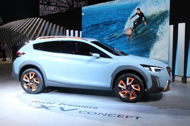 Subaru XV Concept hints at next Crosstrek due for 2018 ...