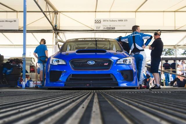 Subaru WRX STI Type RA NBR at Goodwood Festival of Speed