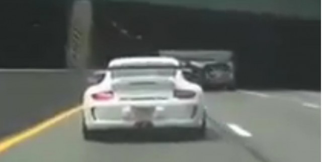 Supercars get high-speed police escort through New Jersey