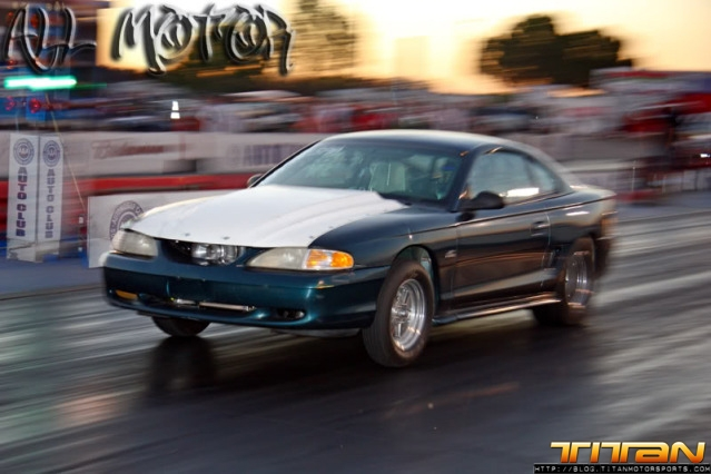 Supra Powered Ford Mustang Runs 8 Second Quarter Mile