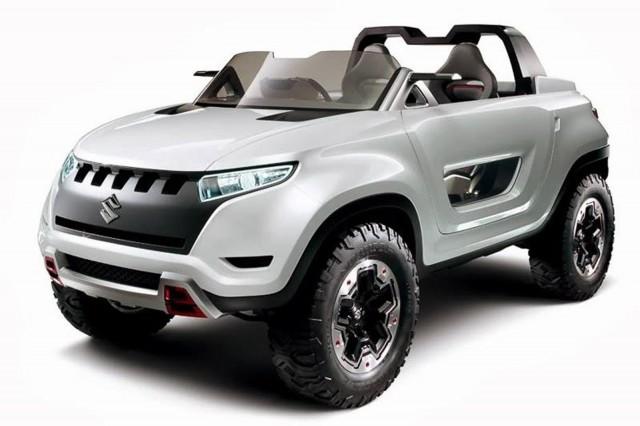 Suzuki X-LANDER concept, 2013 Tokyo Motor Show