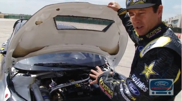 Tanner Foust gives a walkaround of his X Games 17 Fiesta.