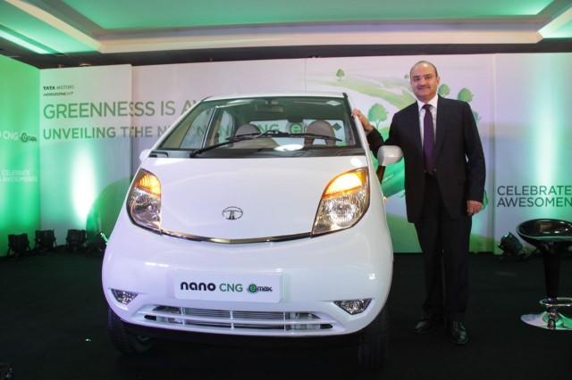 Tata Nano CNG emax unveiled.