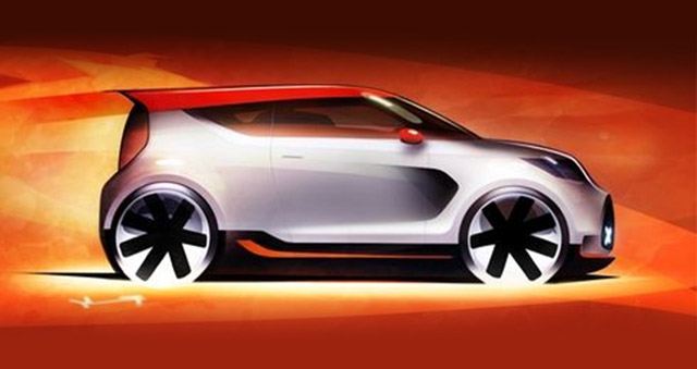 Teaser for 2012 Kia Track-ster Concept