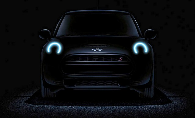 Teaser for 2014 MINI Cooper