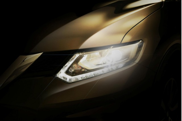 Teaser for 2014 Nissan Rogue