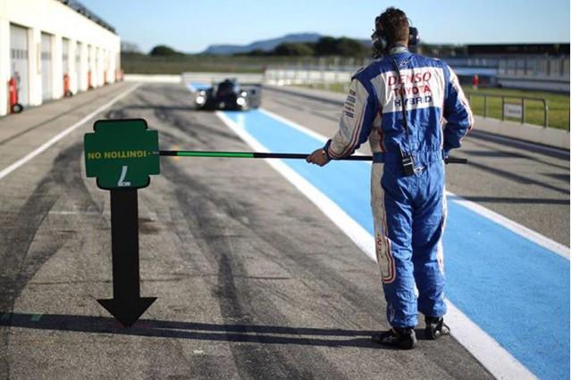 Teaser for 2014 Toyota TS040 Hybrid Le Mans prototype (LMP1 )