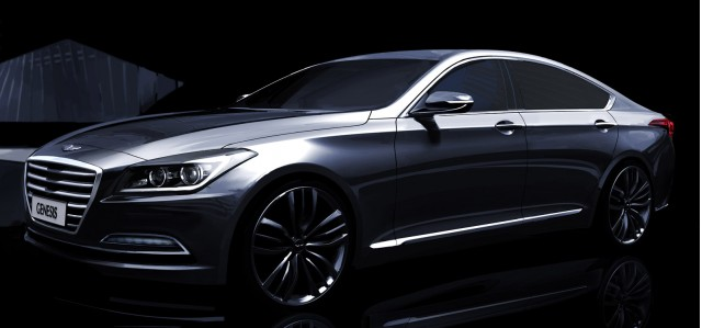 Teaser for 2015 Hyundai Genesis