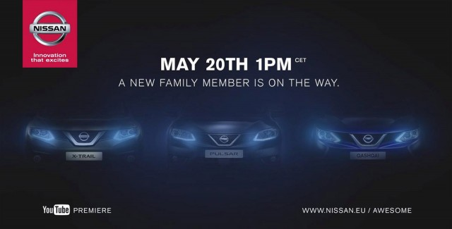 Teaser for 2015 Nissan Pulsar