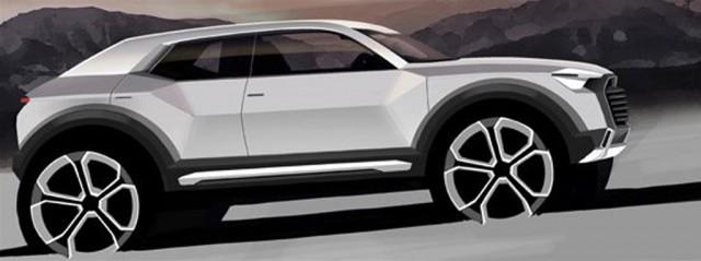 Teaser for 2016 Audi Q1