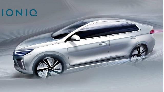 more 2017 hyundai ioniq sketches before hybrid electric cars debut