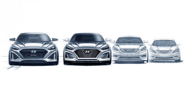 Teaser for 2018 Hyundai Sonata