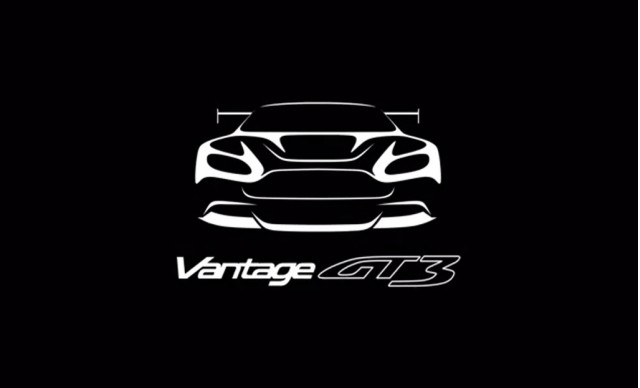 Teaser for Aston Martin Vantage GT3