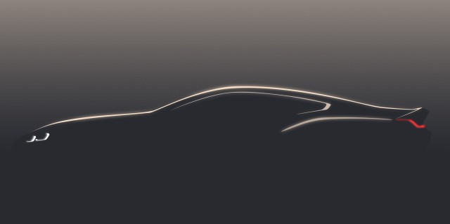 Teaser for BMW 8-Series-previewing concept debuting at 2017 Concorso d'Eleganza Villa d'Este