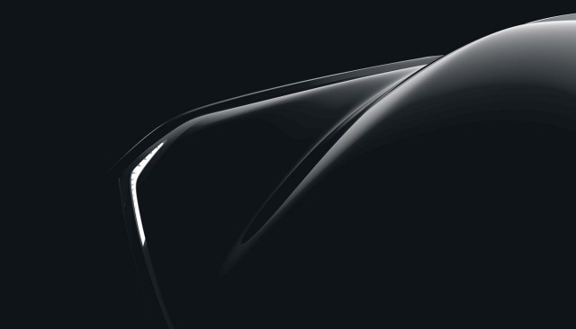 Teaser for Faraday Future concept car debuting at 2016 Consumer Electronics Show
