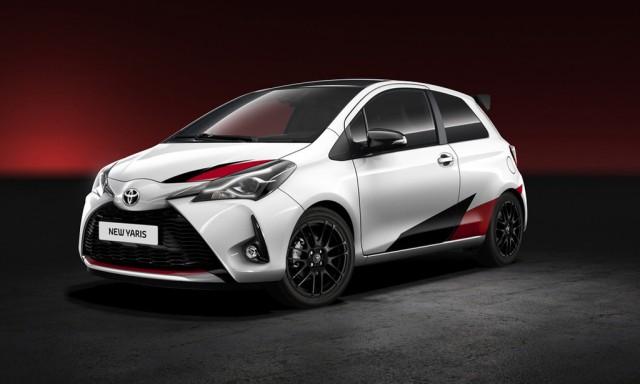 Teaser for hot Toyota Yaris debuting at 2017 Geneva auto show