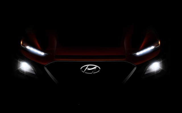 Teaser for Hyundai Kona