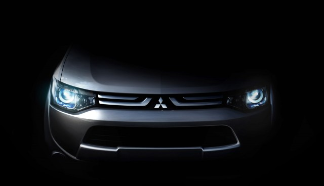 Teaser for new global model from Mitsubishi