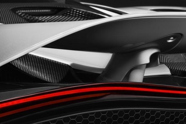 Teaser for new McLaren Super Series model debuting at 2017 Geneva auto show