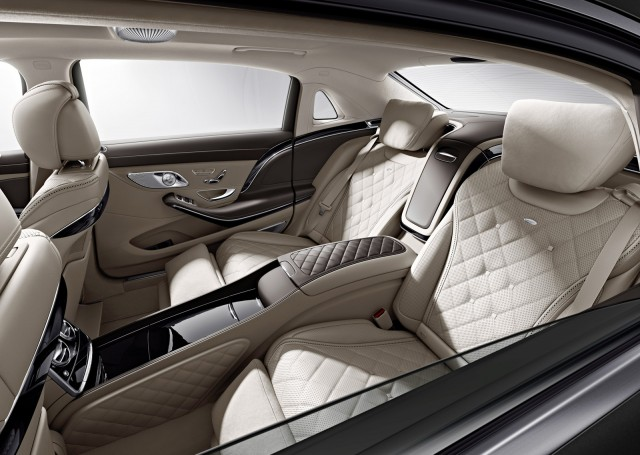 Teaser for new Mercedes-Maybach S-Class