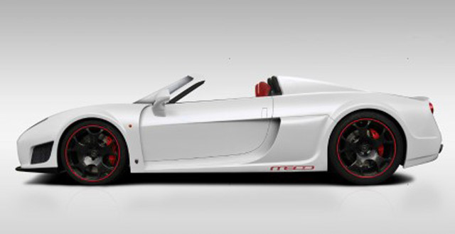 Noble M600 Roadster design study