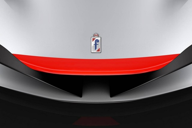 Teaser for Pininfarina concept car debuting at 2016 Geneva Motor Show