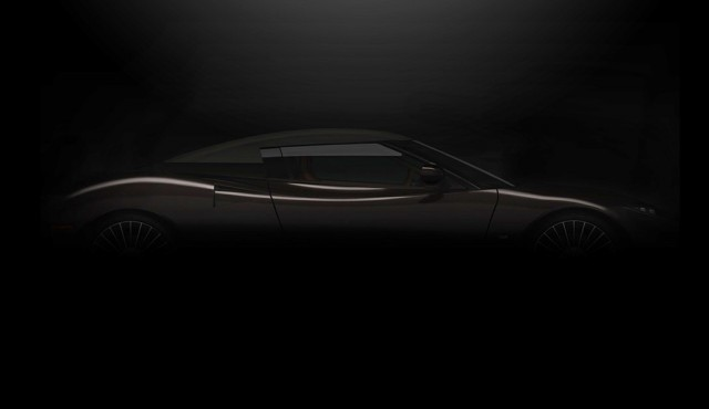Teaser for Spyker C8 Preliator Spyder debuting at 2017 Geneva auto show