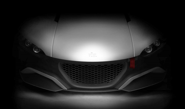 Teaser for VŪHL 05 sports car
