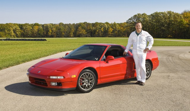 Ted Klaus and the original Acura NSX