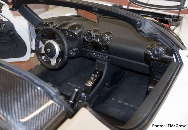 Telsa Roadster Sport Interior - Boulder, Colorado Dealership