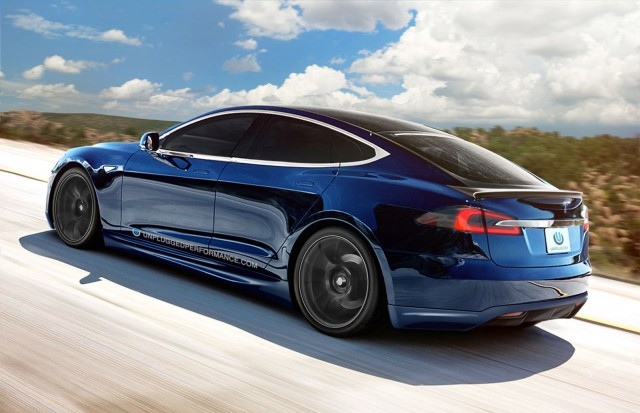 Tesla Model S by Unplugged Performance
