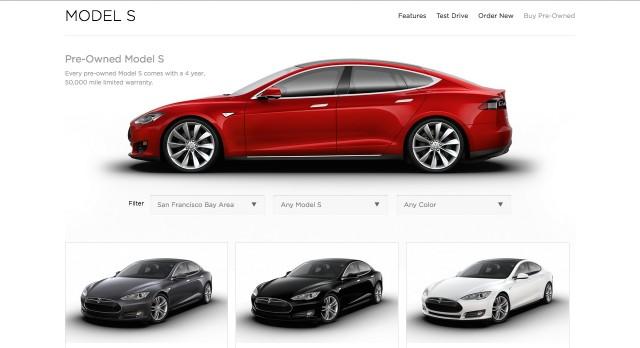 Tesla pre owned