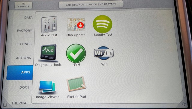 Tesla Model S service apps [CleanTechnica]