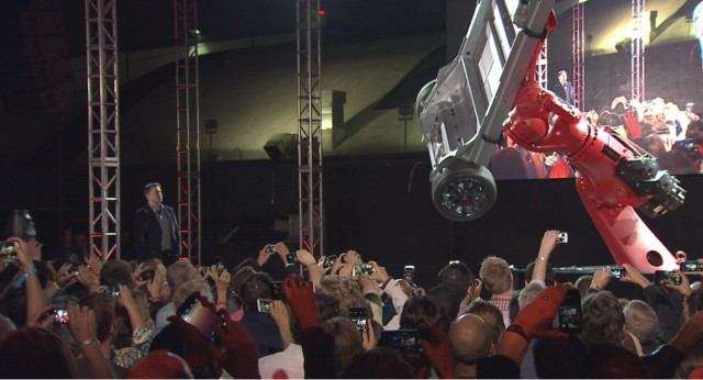 Tesla Motors CEO Elon Musk reveals Tesla Model S 'D' all-wheel-drive system, Oct 2014