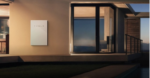 Tesla Debuts Bigger Powerwall 2 0 Battery Glass Solar